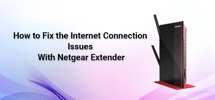 Fix the internet connection