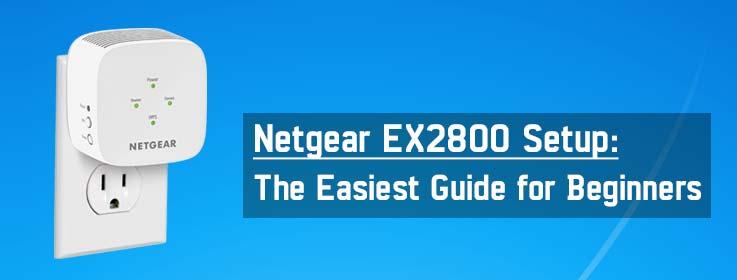 ex2800 setup